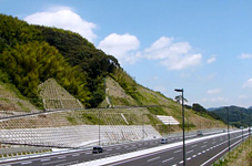 Expressway slope surface monitoring system