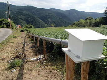 Landslide automatic monitoring system